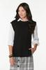 Cable Sleeveless Sweater alt view