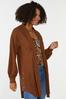 Plus Size Ribbed Duster Sweater alt view