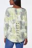 Plus Size Limelight French Terry Top alternate view