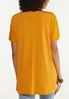 Plus Size Cinched Sleeve Top alternate view