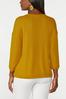 Plus Size Gold Cutout Waffle Top alternate view