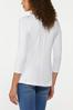 Plus Size Solid Scoop Neck Top alternate view