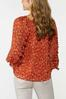 Plus Size Ruffled Floral Top alternate view