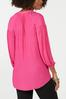 Plus Size Pink Textured Tunic alternate view