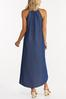 Embellished Chambray High- Low Dress alternate view