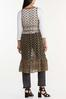 Plus Size Allover Crochet Vest alternate view