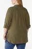 Plus Size Solid Textured Tunic alternate view