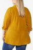 Plus Size Solid Textured Tunic alt view