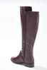 Wide Width Woven Effect Riding Boots alternate view
