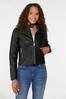 Faux Leather Jacket alt view