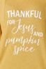 Plus Size Thankful Waffle Top alt view