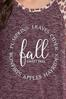 Plus Size Twisted Fall Favorites Top alt view