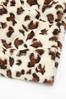 Fuzzy Leopard Scarf alternate view