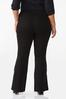 Plus Size Solid Flare Pants alternate view