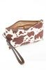 Cow Panel Bag- In- Bag Tote alt view