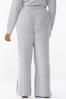 Plus Size Ribbed Knit Pants alternate view
