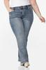 Plus Petite Embellished Curvy Jeans alternate view