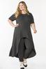 Plus Size Charcoal Pull- On Pants alt view