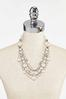 Layered Pearl Statement Necklace alternate view