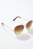 Gold Dust Aviator Sunglasses alternate view