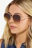 Gold Dust Aviator Sunglasses alt view