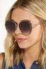 Black Gold Statement Sunglasses alt view