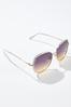 White Gold Statement Sunglasses alternate view