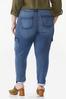 Plus Size Stretch Utility Jeans alternate view