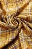 Gold Plaid Infinity Scarf alternate view