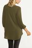 Olive Crepe Tunic alternate view