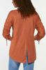 Plus Size Ruched Sleeve Top alternate view