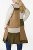 Plus Size Colorblock Sleeveless Sweater alternate view