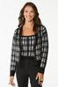 Houndstooth Sweater Tank alt view
