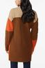 Plus Size Autumn Colorblock Cardigan Sweater alternate view