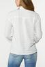 Plus Size Textured Collared Shirt alternate view