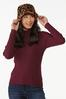 Ribbed Mock Neck Sweater alt view