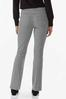 Houndstooth Pull- On Pants alternate view