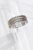Silver Tasseled Bracelet alternate view