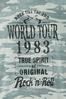 Plus Size World Tour Camo Tee alt view