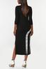 Plus Size Tie Dye Midi Dress alternate view