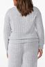 Plus Size Ribbed Knit Top alternate view