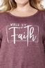 Plus Size Faith Cold Shoulder Sweatshirt alt view