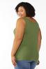 Plus Size Heathered Solid Tank alternate view