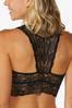 Plus Size Lace Racerback Bralette alt view