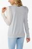 Plus Size Colorblock Puff Sleeve Top alternate view