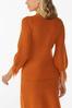 Distressed Orange Sweater alternate view