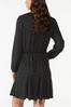 Plus Size Hacci Tie Waist Dress alternate view