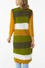 Plus Size Stripe Down To Earth Sweater Vest alternate view