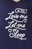 Let Me Sleep Tee alt view