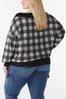 Plus Size Off Shoulder Gingham Top alternate view